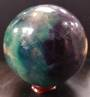 Fluorite Crystal Ball