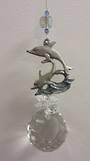 Riding The Wave Dolphin Suncatcher