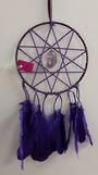 Purple Elf Star Amethyst Dreamcatcher