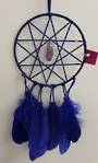 Dark Blue Elf Star Amethyst Dreamcatcher