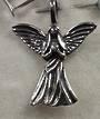 Sterling Silver Angel Pendant 2.5cm