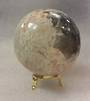 Moonstone and Black Tourmaline Crystal Ball MT39