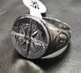 Compass Mens Ring 1.8cm