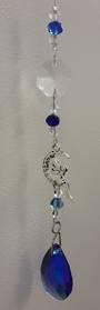 Blue Moon Fairy Suncatcher
