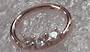 16g Rose Gold Jewelled Hinged Segment Ring 10mm