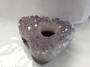 Amethyst Druzy Tealight Candle Holder