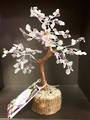 Amethyst and Green Calcite Wish Tree 21cms