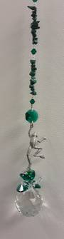 Malachite Frog Suncatcher