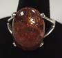 Sunstone Sterling Silver Ring