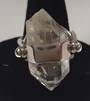Quartz Point and Sterling Silver Ring