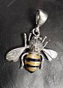 Medium Sterling Silver Bee