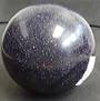 Purple Goldstone Crystal Ball