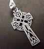 Medium Sterling Silver Celtic Cross