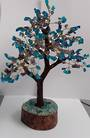 Crystal Spirits Amethyst and Blue Onyx Crystal Tree