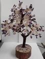 Crystal Spirits Amethyst and Rose Quartz Crystal Tree