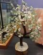 Crystal Spirits Rose Quartz and Green Aventurine Crystal Tree