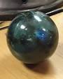 Labradorite Crystal Ball  6cms