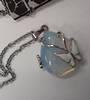 Opalite Butterfly Pendant on Chain