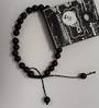 Black Obsidian Adjustable Bracelet