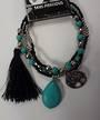 Howlite and Tree Bracelet Set