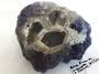Blue Fluorite Quartz and Calcite Crystal Piece
