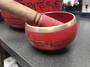 Red Brass Singing Bowl 490grams