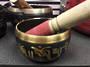 Black and Gold Brass Singing Bowl 505 grams