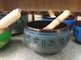 Light Blue Singing Bowl