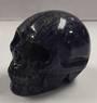 Lapis Crystal Skull
