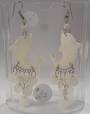 Handmade Shell Dolphin Earrings From Peru