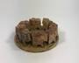 Circle of Elephants Soapstone Incense Burner