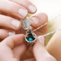 Nesting Fantail Necklace