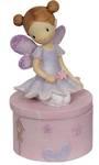 Purple Fairy Tooth or Trinket Box