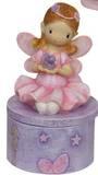 Pink Fairy Tooth Trinket Box