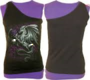 DRAGON ROSE - 2in1 Slant Top Purple and Black XXL was $65 now $20