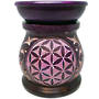 Flower of Life Soapstone Oil Burner 7.5cm