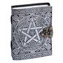 LEATHER JOURNAL – Pentacle Silver Print