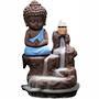 Monk Blue Waterfall Backflow Incense Burner