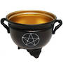 Pentacle Metal Cauldron 10cm