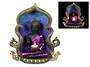 Purple Rulai Buddha Candle and Back Flow Incense Burner