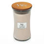 WoodWick Large Candle, Vanilla and Sea Salt