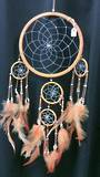 Orange Dreamcatcher 16.5cms