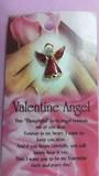 Valentine Angel Brooch
