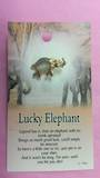 Lucky Elephant Angel Pin