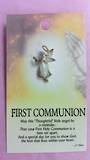 First Communion Angel Brooch