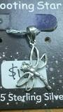 Silver Dragonfly Pendant