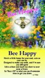 Thoughtful Angel Bee Happy Pin