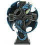 Draco Candela Candle Holder by Anne Stokes