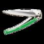 Deejo Knives Color Green Polycarbonate 27g Folding Knife