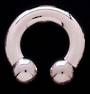 6mm (2g) Horse Shoe 16mm diameter